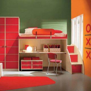 Παιδικό δωμάτιο, κρεβάτια και έπιπλα